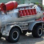 ГПС-600 и ГПС-2000 на пожарном автомобиле