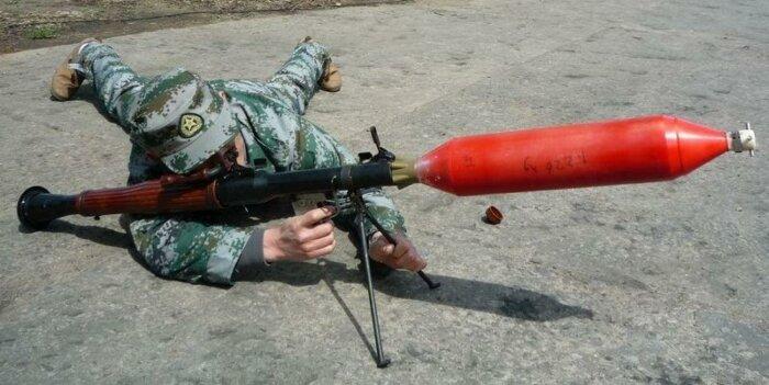 Китайский пожарный гранатомет