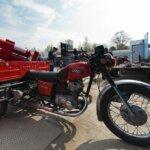Пожарный ракетный мотоцикл