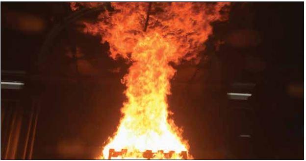 Грувлок в условиях пожара