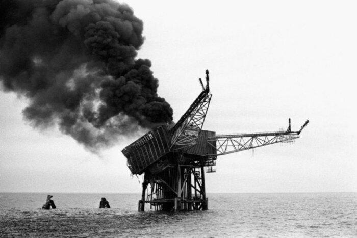 Piper Alpha после пожара