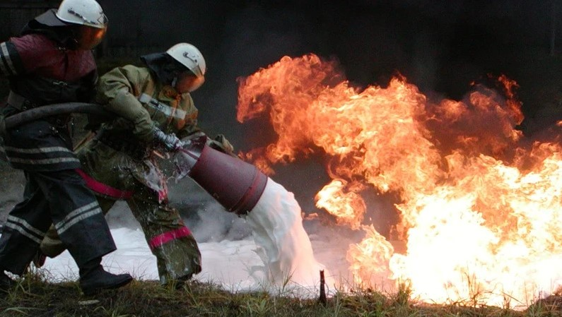 Пожарная пена