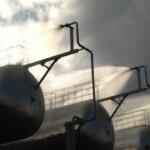 Установка охлаждения изотермических резервуаров