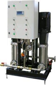 Система для электронного дозирования пенообразователя