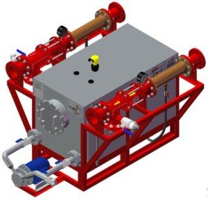 Модель системы дозирования с двумя эжекторами. Фото с сайта www.pnx-spb.ru